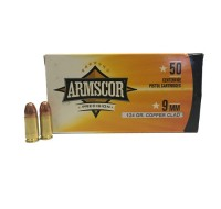 Armscor Ammunition 9MM 124GN Copper Clad (50)