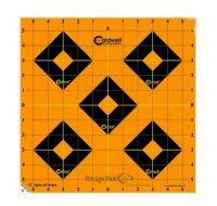 "Caldwell Orange Peel Targets 12"" Self-Adhesive Sight-In (5)"