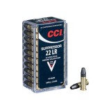 CCI Ammunition 22 Long Suppressor 45GN Hollow Point (500)