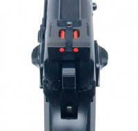 CZ CUSTOM Competition Rear Sight with 1.5mm Fiber Optic Inserts