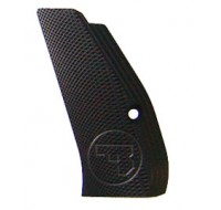 CZ Long Aluminium Checkered Grips 75 / 85 / SP-01 - Black