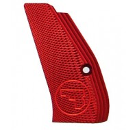 CZ Long Aluminium Checkered Grips 75 / 85 / SP-01 - Red