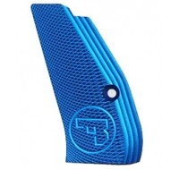 CZ Long Aluminium Checkered Grips 75 / 85 / SP-01 - Blue