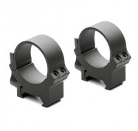 """Leupold QRW2 Quick-Release Weaver-Style Rings 1"""" Matte"""