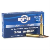 PPU Ammunition 303 British 174gn FMJ BT (20)