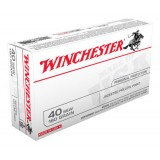 Winchester USA Value Pack 40S&W 180GN JHP (50)