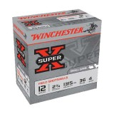 "Winchester Super X 12 Gauge 4 2-3/4"" 36GM (25)"